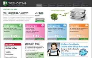 ps-webhosting website