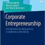 Veröffentlichung Corporate Entrepreneurship