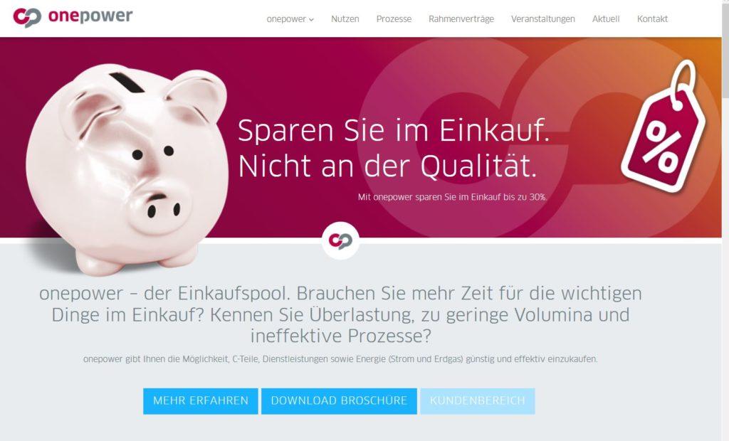 Homepage onepower